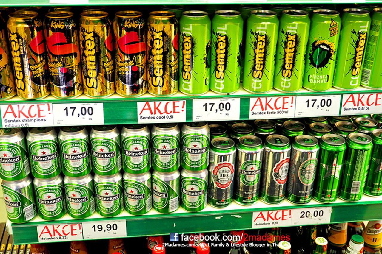 เบียร์ยิ่งถูกครับ กระป๋อง 500 ml แค่ไม่ถึง 35 บาท