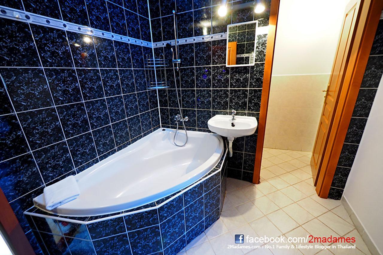 ห้องน้ำที่พักที่ Cesky Krumlov