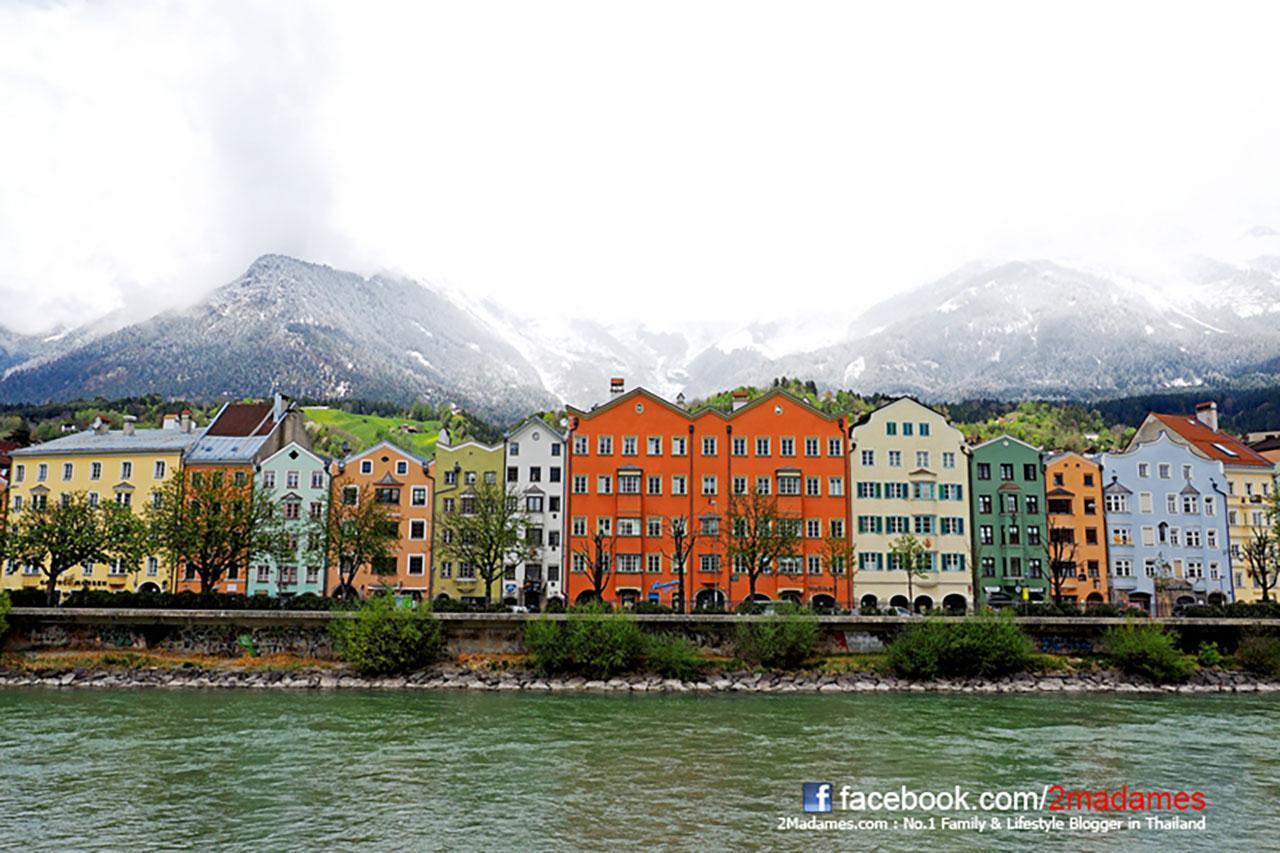 เยือนเมืองท่ามกลางขุนเขาอินส์บรุค Innsbruck