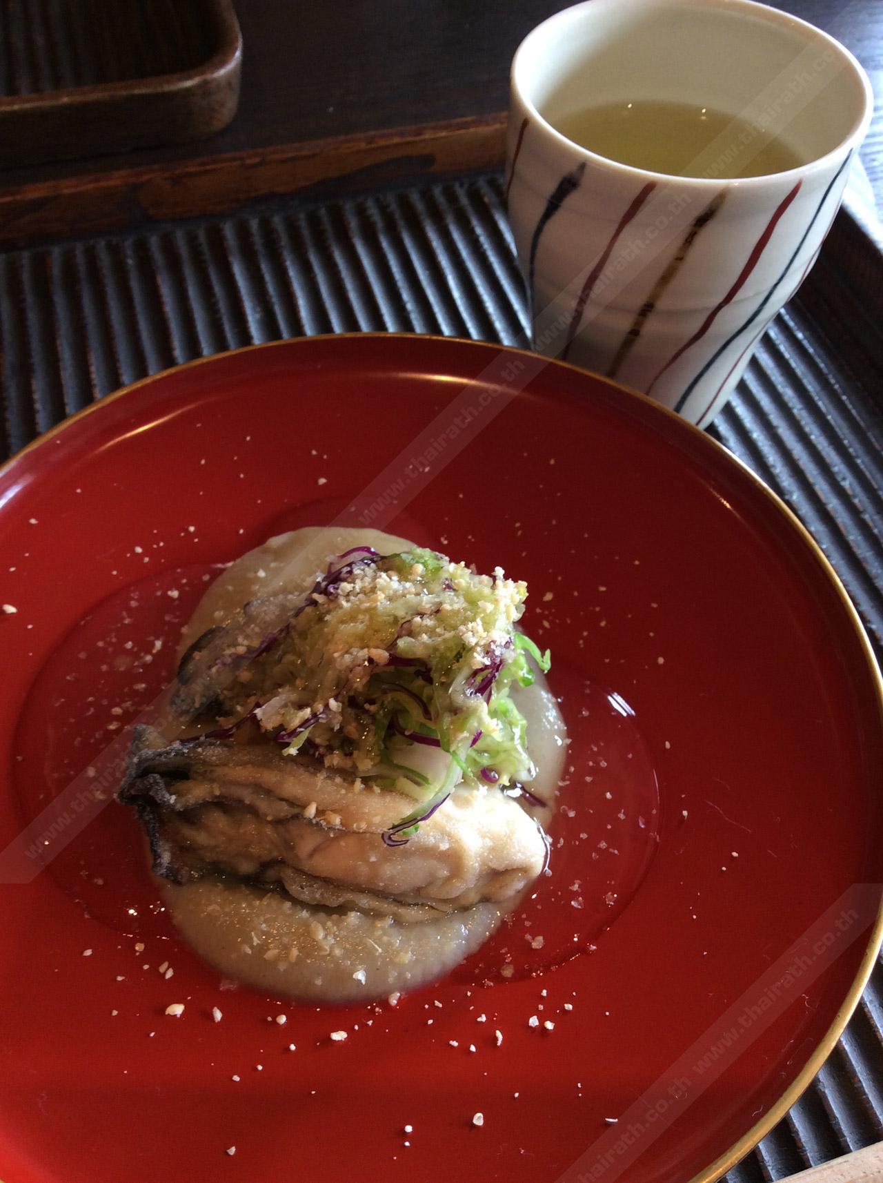 หอยนางรมทอด ของทอดในเซตไคเซกิ
