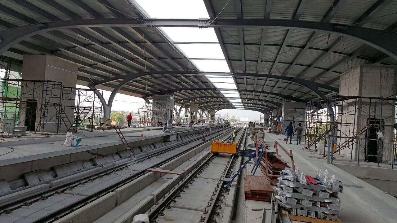 งานก่อสร้างรถไฟฟ้า เชื่อมต่อคมนาคมให้คนกรุง