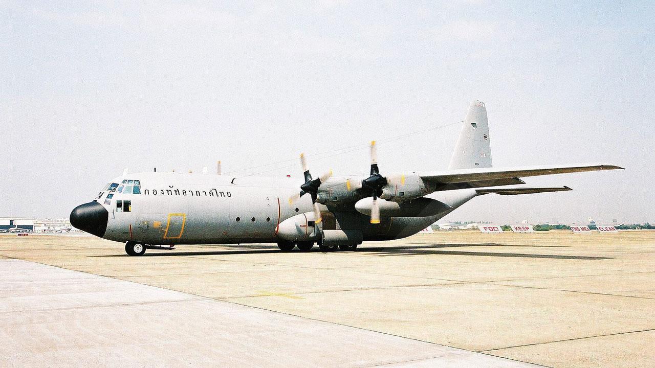เครื่องบิน C130 กองทัพอากาศไทย
