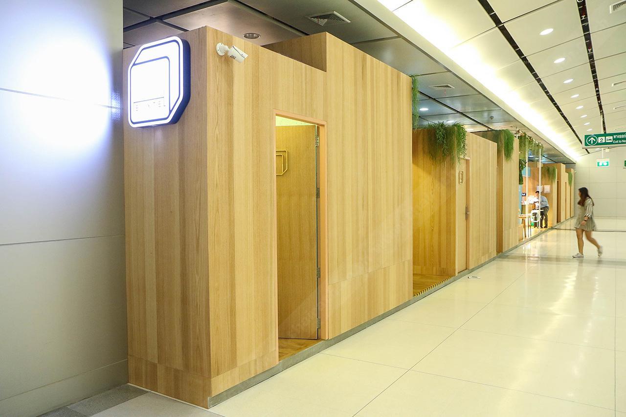 พื้นที่ของ Boxtel เป็นลักษณะยาวไปตามผนัง มี 12 ห้อง