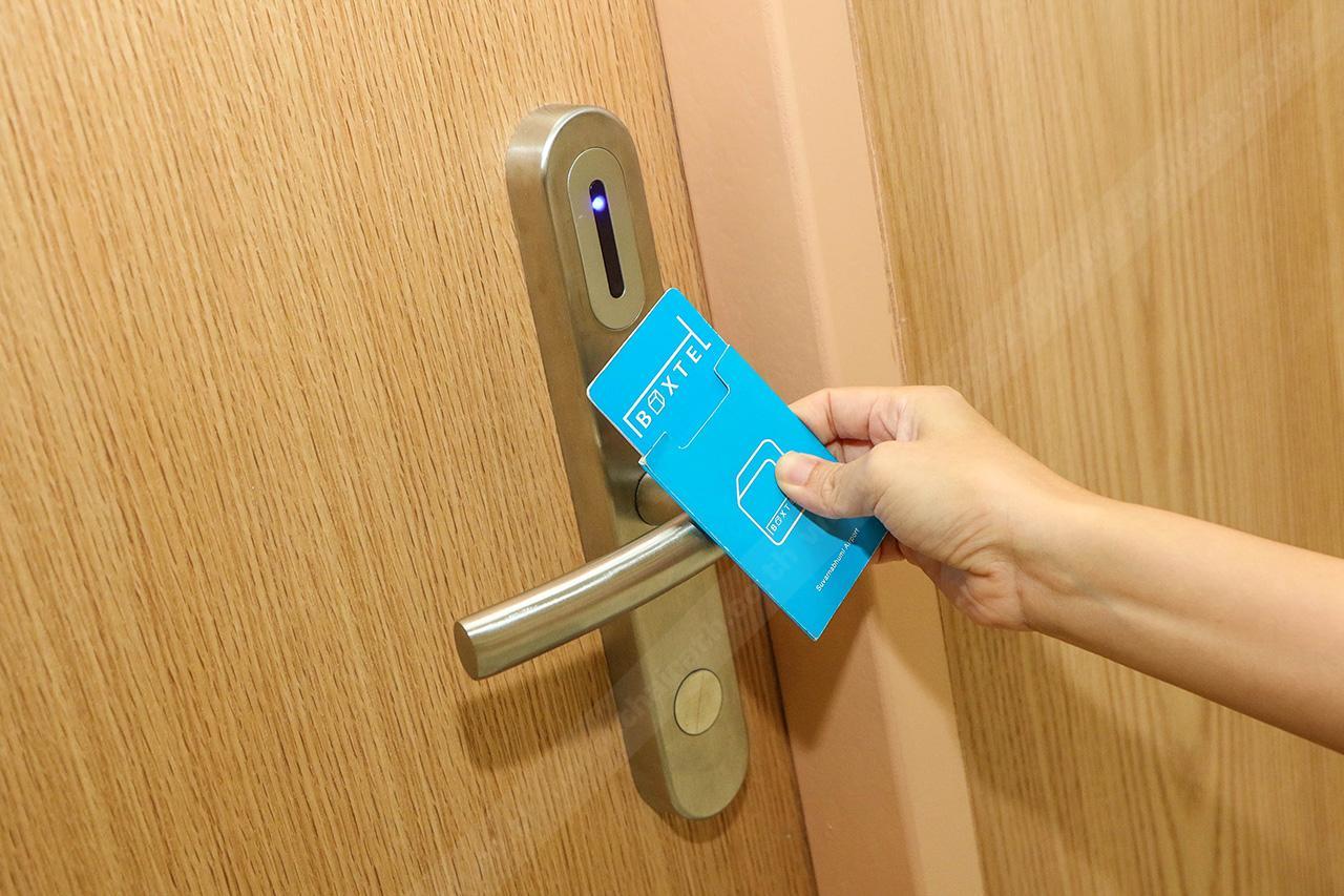 ระบบความปลอดภัยสูง ใช้กุญแจแบบสมาร์ทคีย์