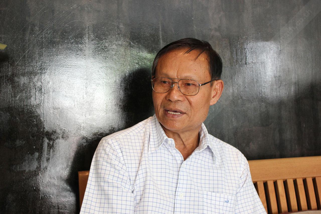 เสมอ เทนจตุรัส ลูกบ้านหมู่บ้านกลางกรุงวัย 65 ปี