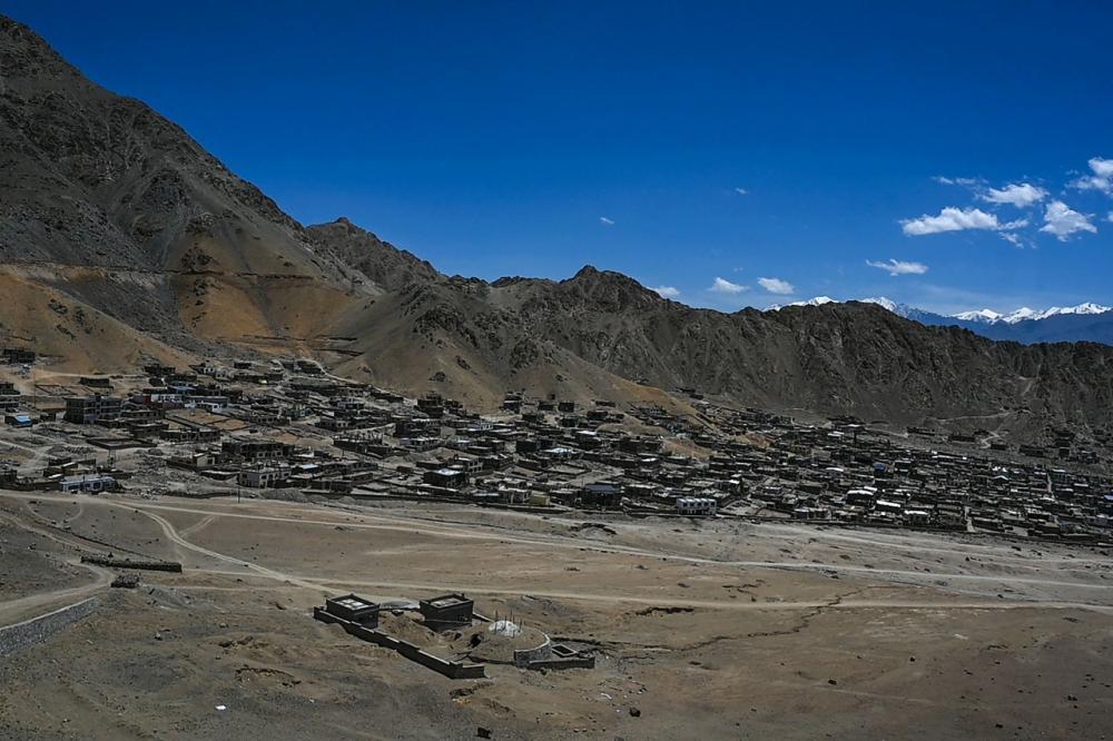 จุดชายแดนพื้นที่พิพาท ระหว่างจีนและอินเดีย กลางหุบเขากาลวาน