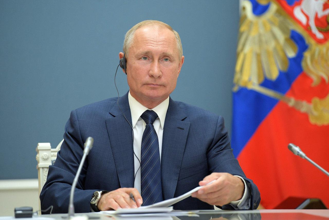 วลาดิเมียร์ ปูติน ประธานาธิบดีรัสเซีย