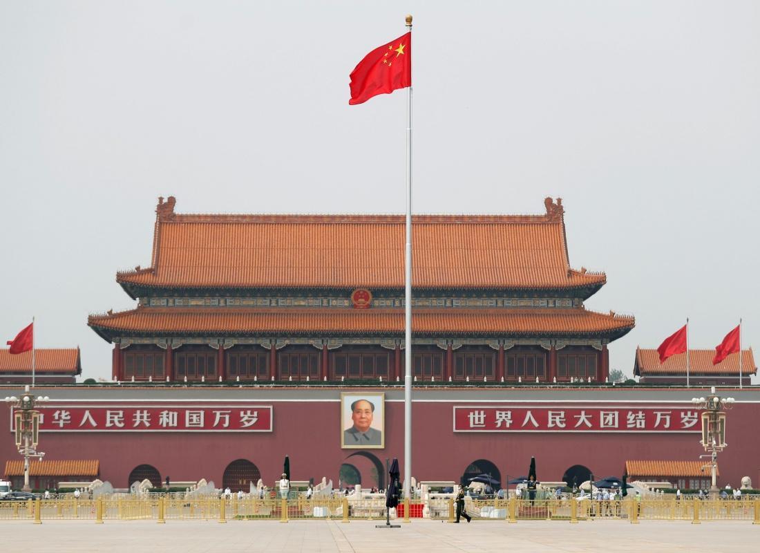 จัตุรัสเทียนอันเหมิน อดีตสถานที่สำคัญในการประท้วงเพื่อประชาธิปไตยในประเทศจีนเมื่อปี 2532 ก่อนจะมีการสลายการชุมนุมจนเป็นเหตุนองเลือด