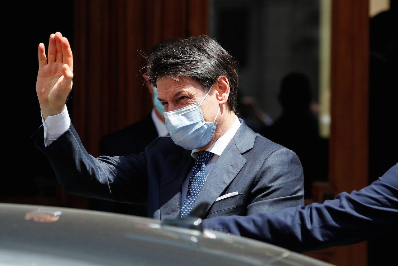 นายกรัฐมนตรี จูเซปเป คอนเต แห่งอิตาลี