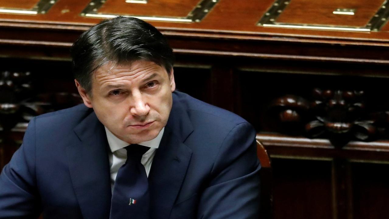 นายจูเซปเป คอนเต นายกรัฐมนตรีของอิตาลี
