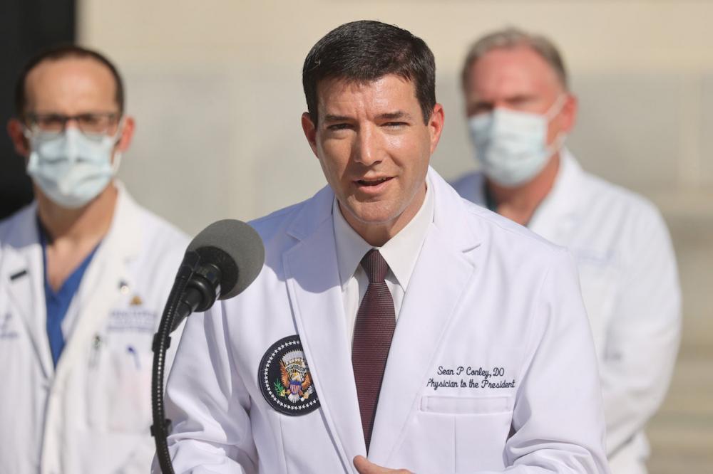 ดร. ชอน คอนลีย์ แพทย์ประจำทำเนียบขาว