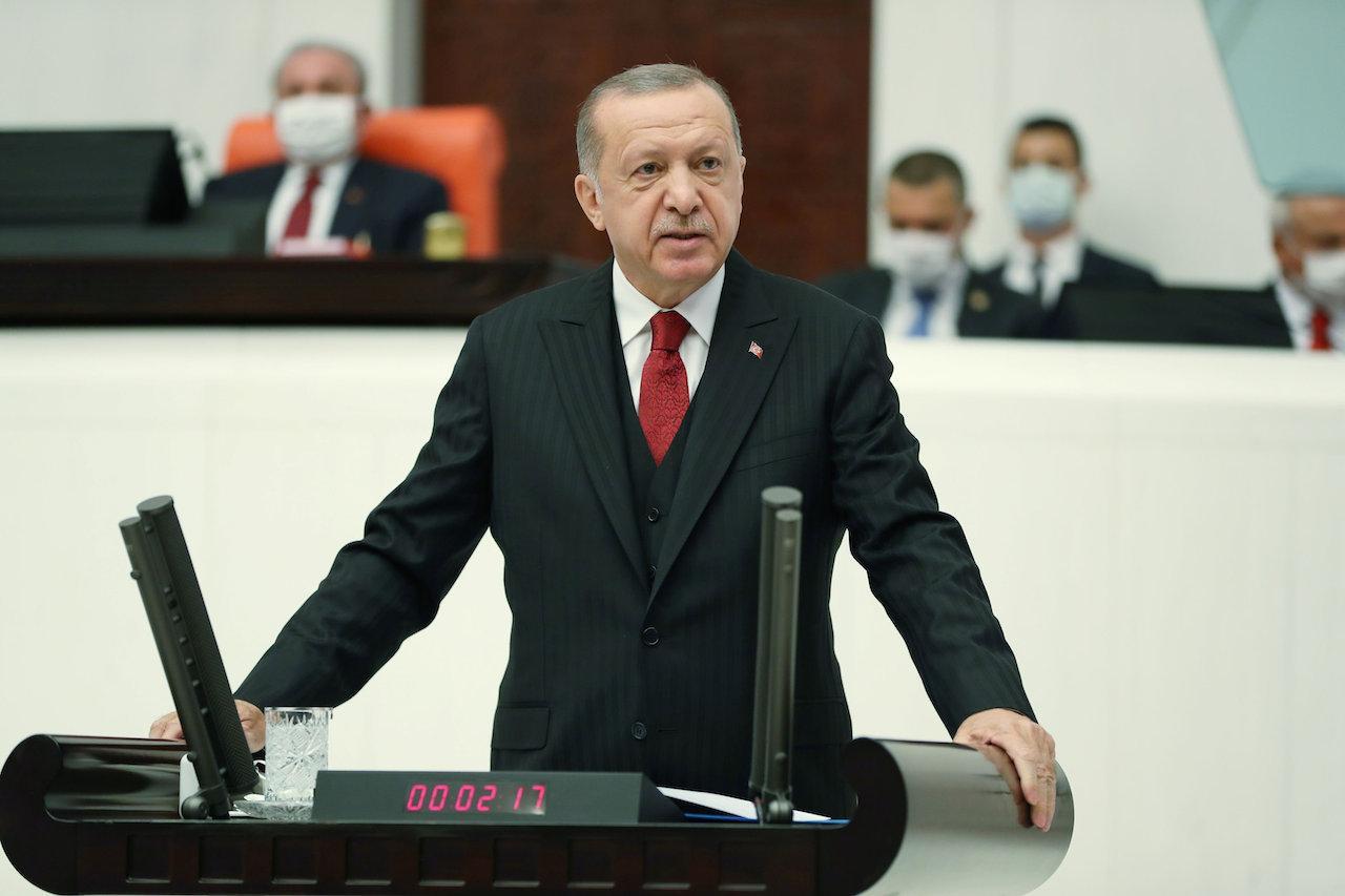 ประธานาธิบดี เรเจป ไตยิป เอร์โดอัน แห่งตุรกี