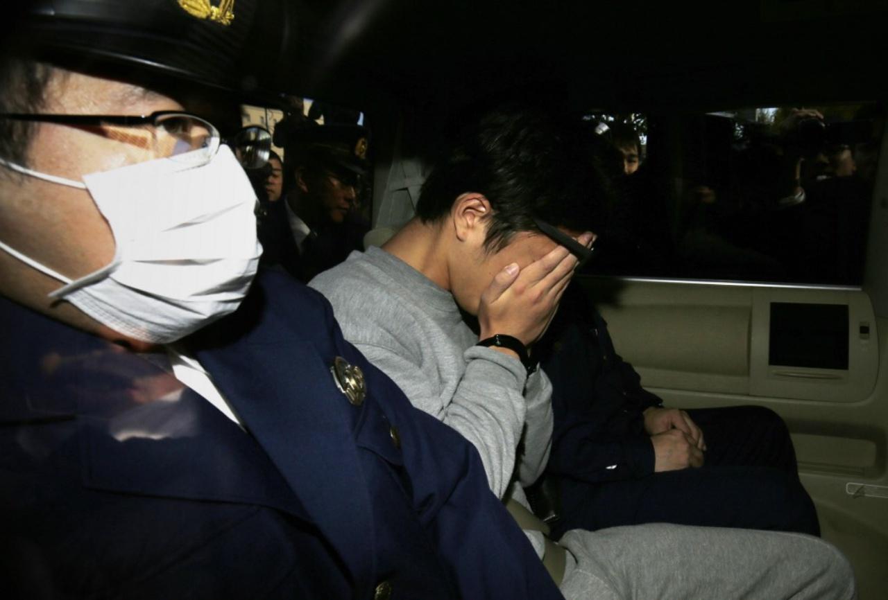 นายทาคาฮิโระ ชิระอิชิ ถูกตำรวจจับกุมเมื่อ 1พ.ย. 60