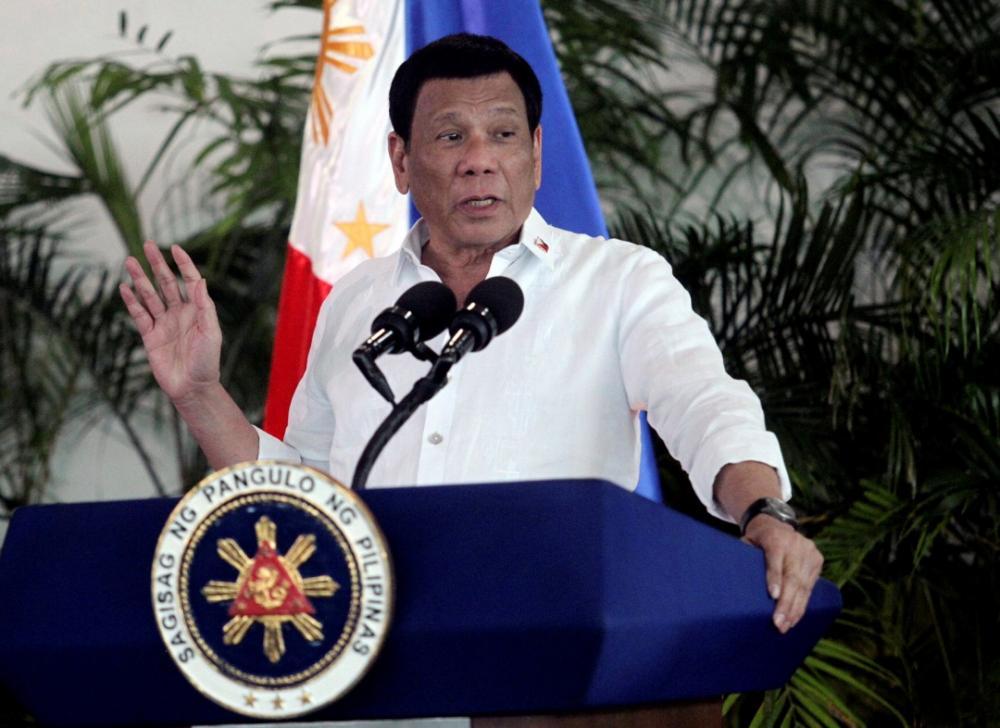 ประธานาธิบดีโรดริโก ดูเตร์เต แห่งฟิลิปปินส์
