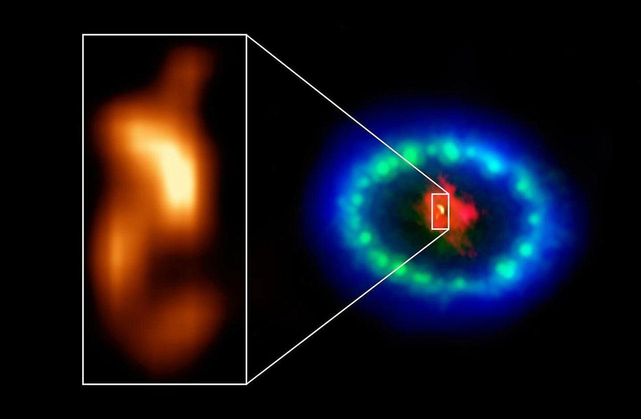 Credit : ALMA (ESO/NAOJ/NRAO), P. Cigan and R. Indebetouw; NRAO/AUI/NSF, B. Saxton; NASA/ESA