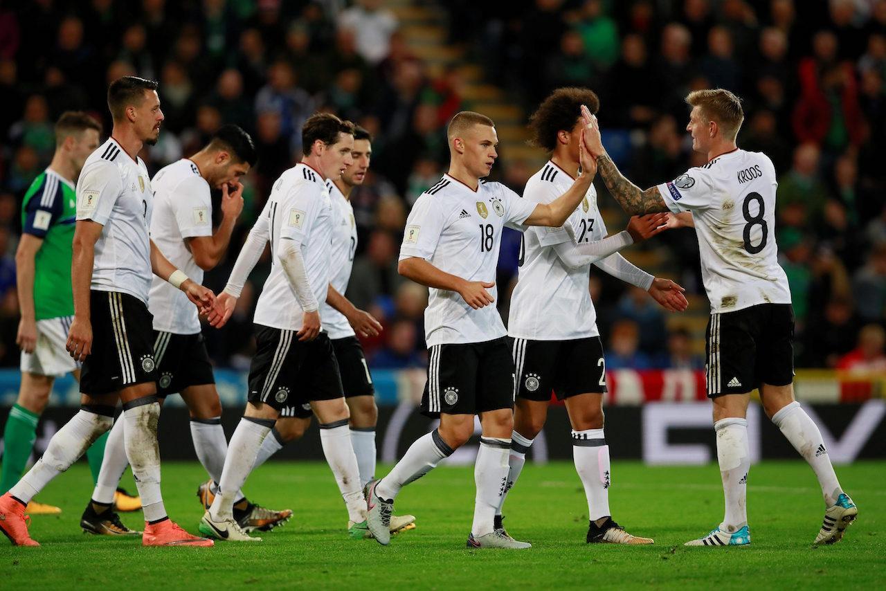 เยอรมนี เป็นอีกทีมที่ผ่านเข้าไปเล่นในรอบสุดท้ายฟุตบอลโลก 2018