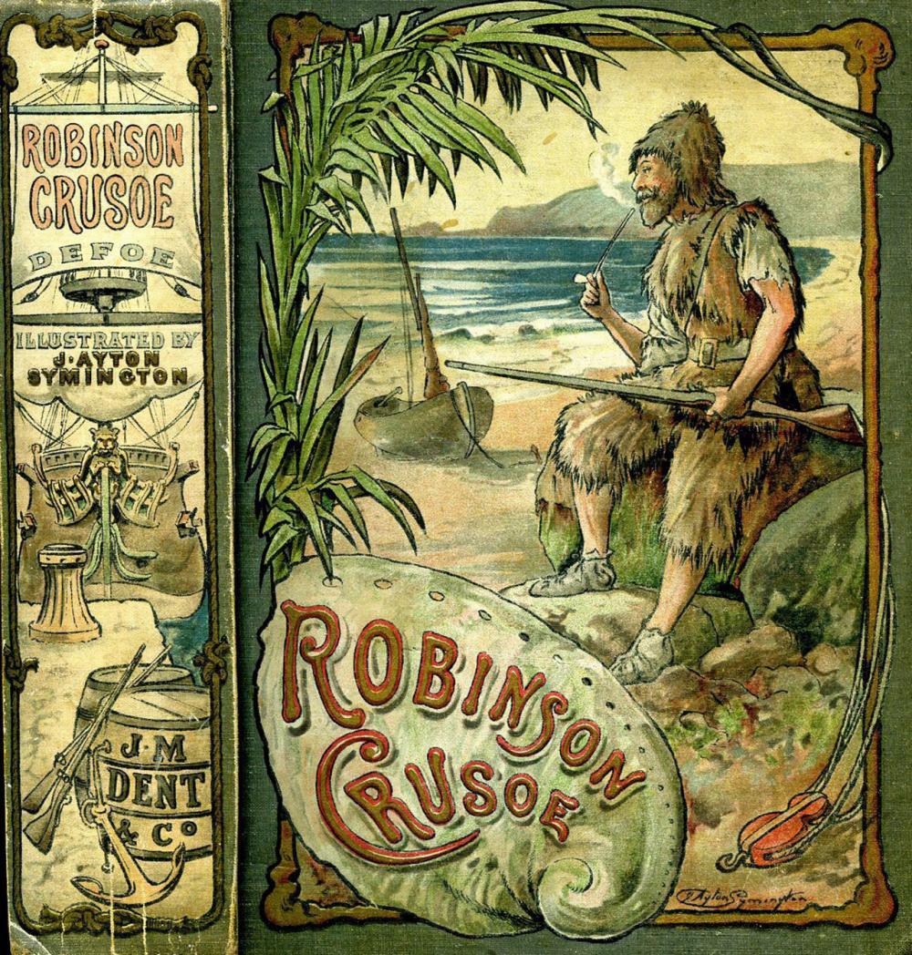 โรบินสัน ครูโซ ผู้ใช้ชีวิตบนเกาะร้าง.
