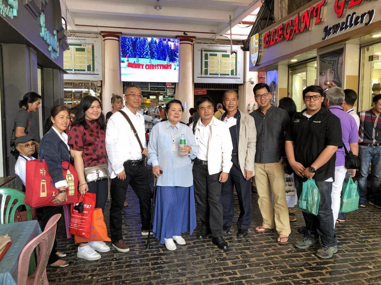 ร่วมงานใหญ่ สุภชัย วีระภุชงค์ เลขาธิการสถาบันโพธิคยาวิชชาลัย 980 และ คุณหญิงพันธุ์เครือ ยงใจยุทธ นำสื่อมวลชนไทยไปร่วมสวดมนต์ข้ามปีครั้งประวัติศาสตร์ ที่มหาเจดีย์ชเวดากอง นครย่างกุ้ง เมียนมา.