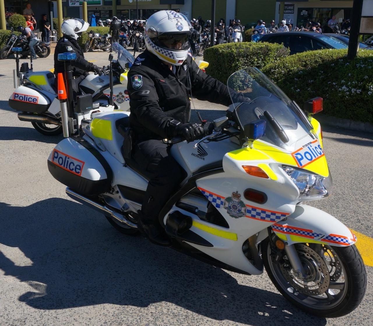 จักรยานยนต์ความเร็วสูงของตำรวจออสเตรเลีย