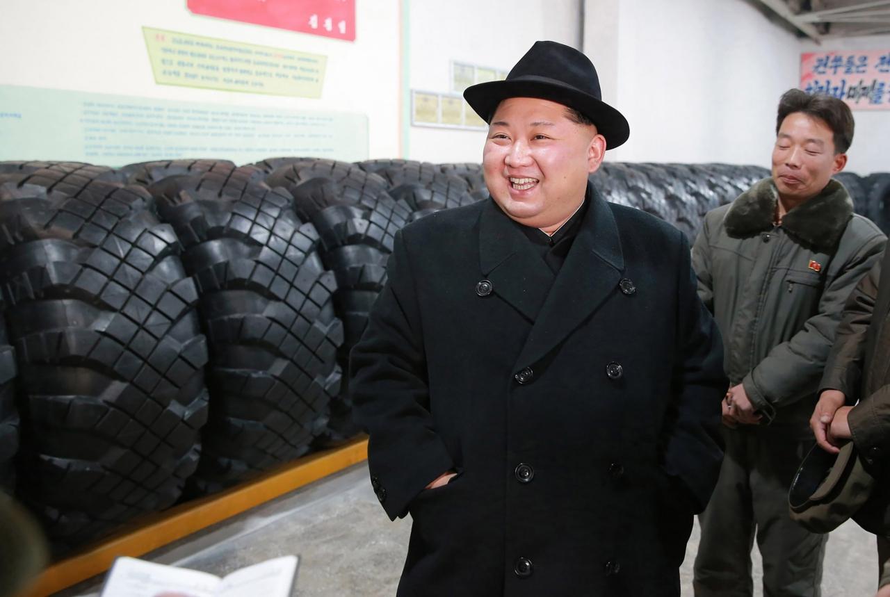 คิม จอง อึน ผู้นำเกาหลีเหนือ