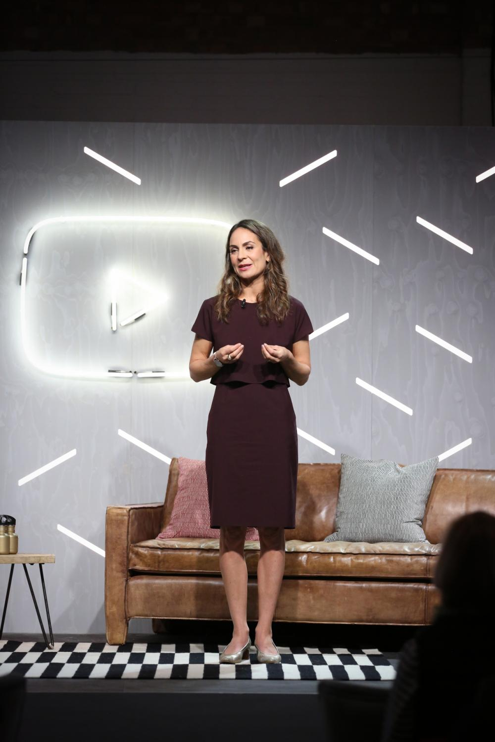 Juniper Downs, Global Director of public policy for YouTube