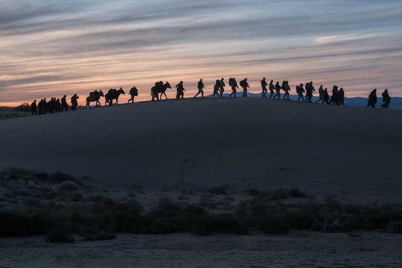 การเดินทางอันแสนยากลำบากและทรหดในดินแดนแห่งสงคราม