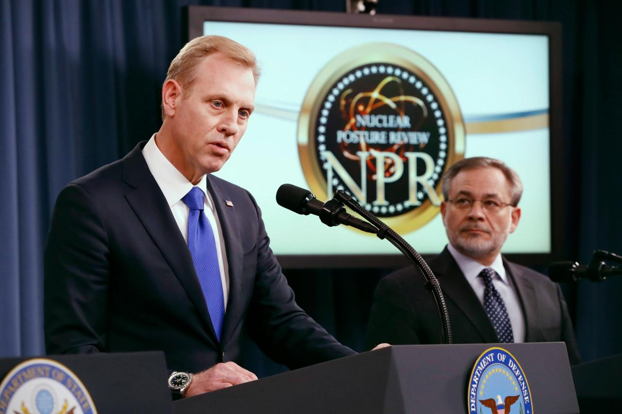 แพทริก ชานาฮาน รัฐมนตรีช่วยกระทรวงกลาโหมสหรัฐฯ