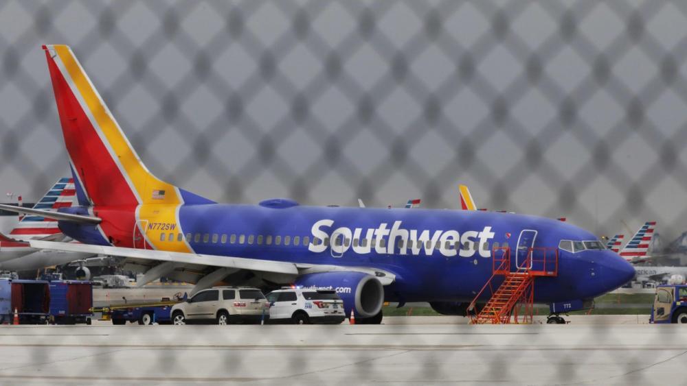 เครื่องบินโดยสารโบอิ้ง 737-700 ของสายการบินเซาท์เวสต์แอร์ไลน์
