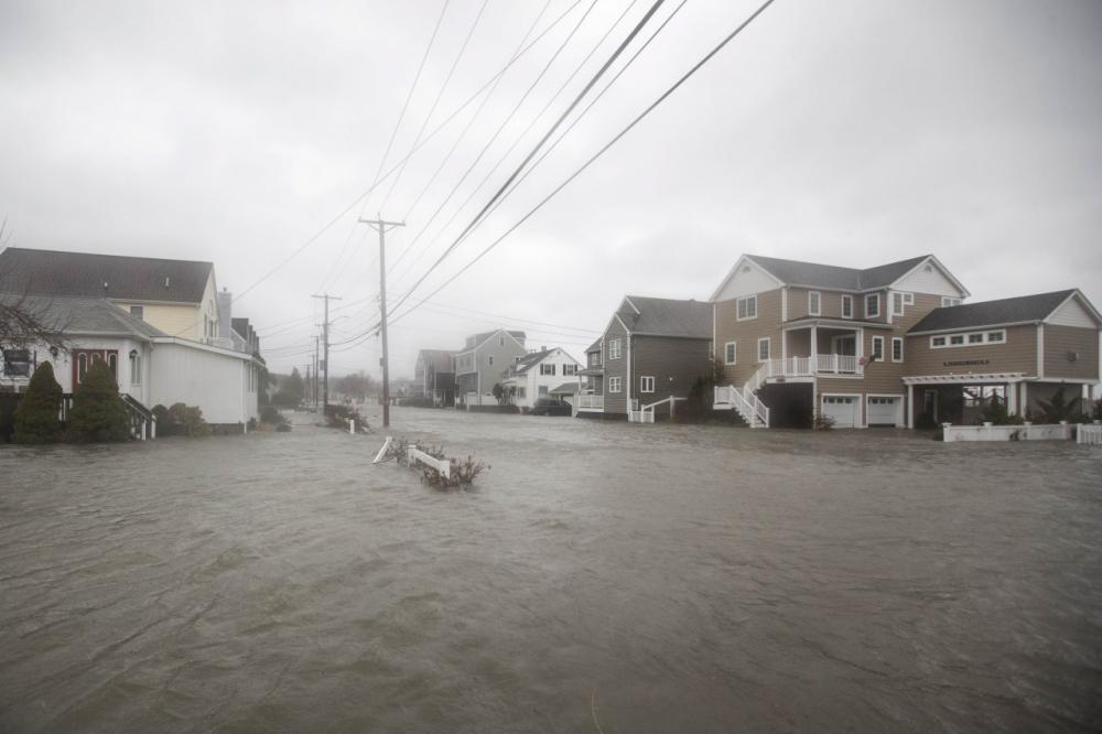 น้ำท่วมที่เมืองควินซี