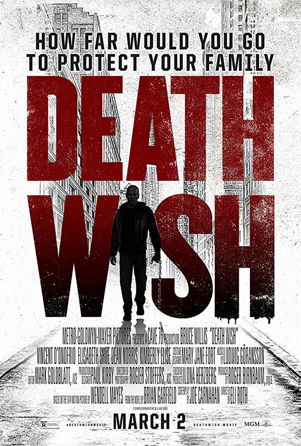 โปสเตอร์ Death Wish นักฆ่าโคตรอึด