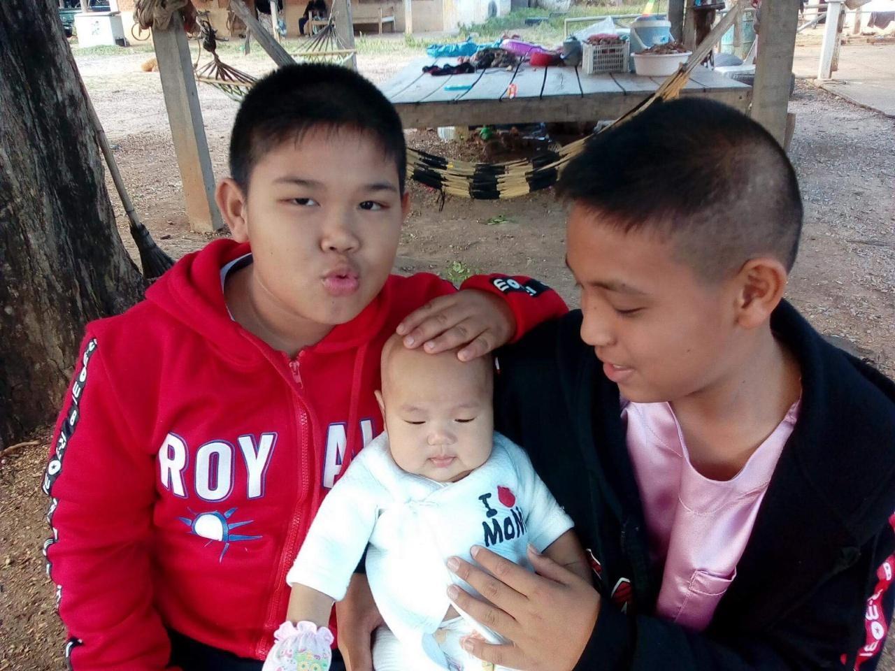 น้องชายทั้ง 3 ของสุธิดา