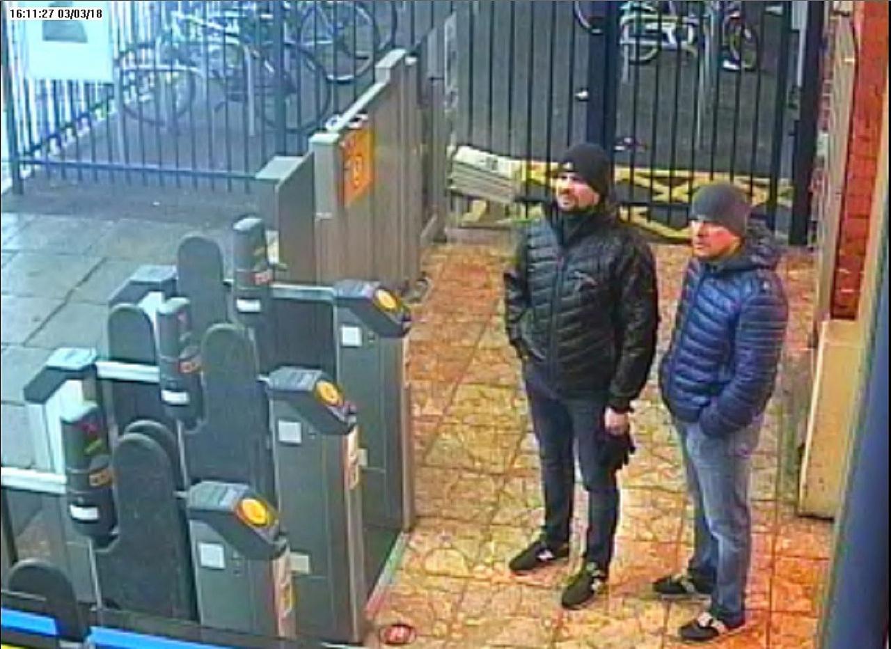 ผู้ต้องสงสัยชาวรัสเซียปรากฏตัวที่สถานีรถไฟเมืองซาลิสบิวรู เมื่อ 3 มี.ค. หรือ 1 วันก่อนเกิดเหตุ