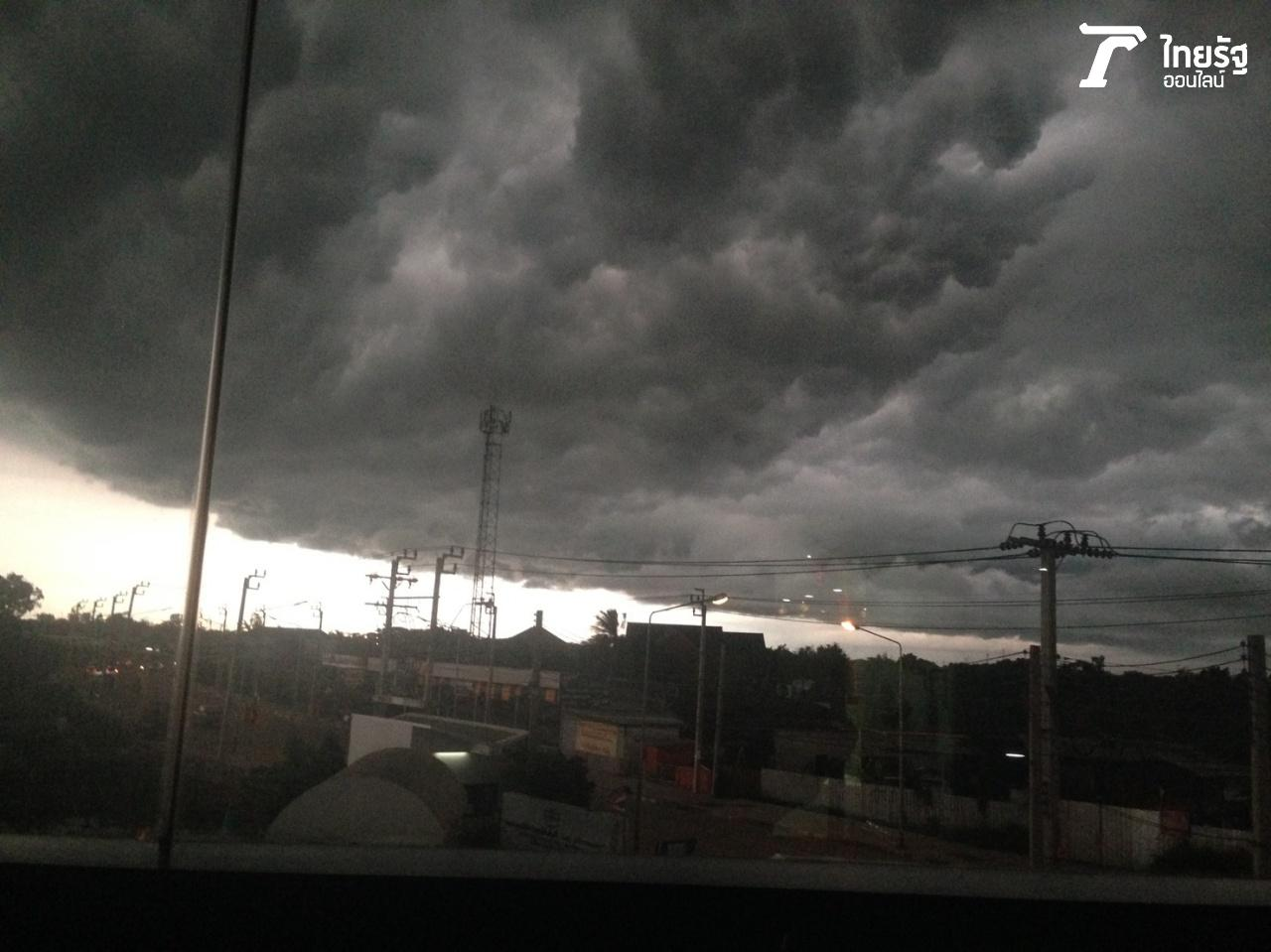 พายุฝน จ่อคลุมพื้นที่ย่านหทัยราษฎร์
