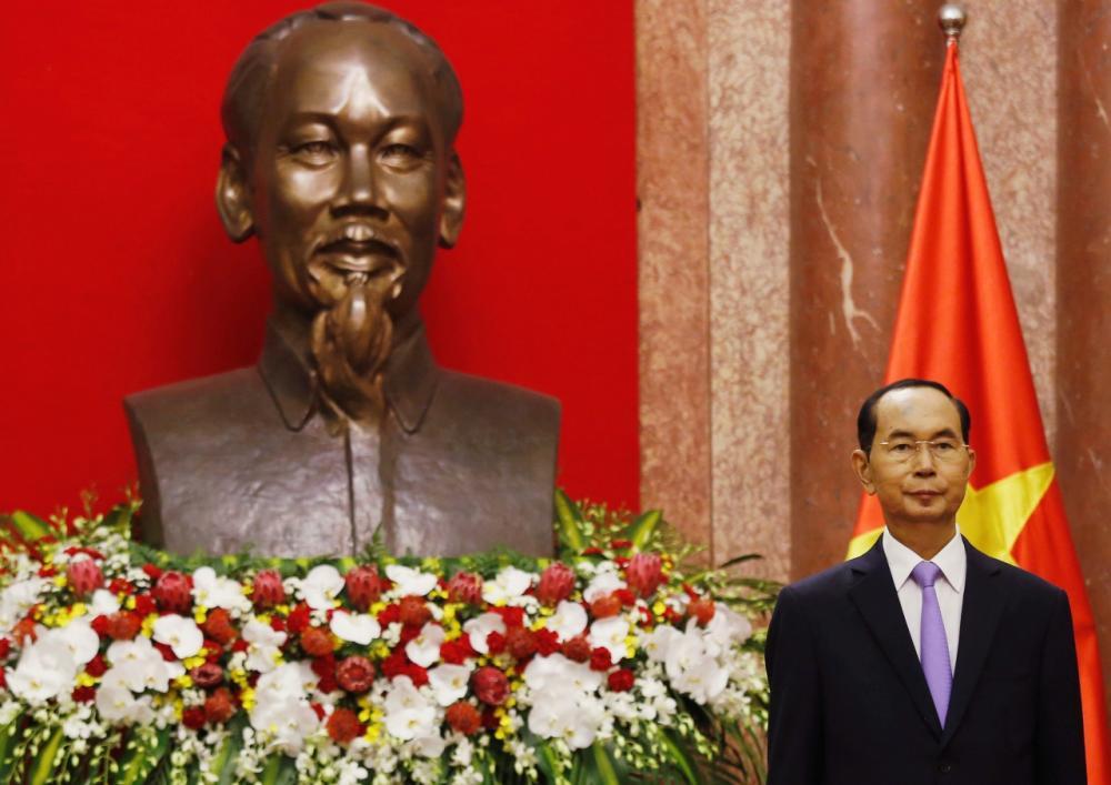 ประธานาธิบดีเจิ่น ดั่ย กวาง ของเวียดนาม