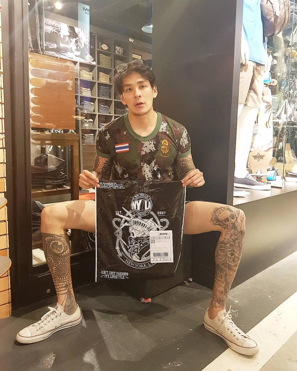 แทค ภรัณยู ขอบคุณภาพจากไอจี @tack_pharunyoo