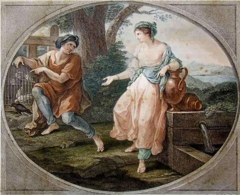 ซินเดอเรลล่าในตำนานของชาวกรีก.