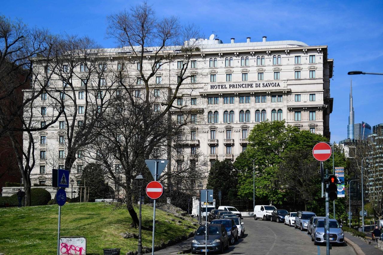 โรงแรมPrincipe di Savoia ในเมืองมิลาน ประเทศอิตาลี ซึ่งมีสำนักงานการลงทุนแห่งชาติบรูไนเป็นเจ้าของ