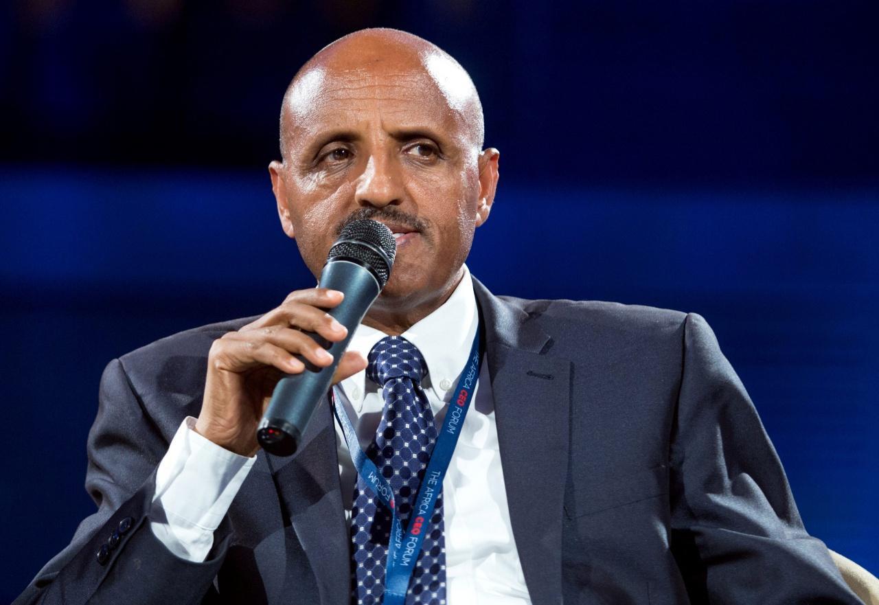 นายทีโวลดี เกบรีมาเรียม ประธานเจ้าหน้าที่บริหาร (ซีอีโอ) ของสายการบินเอธิโอเปีย แอร์ไลน์ส