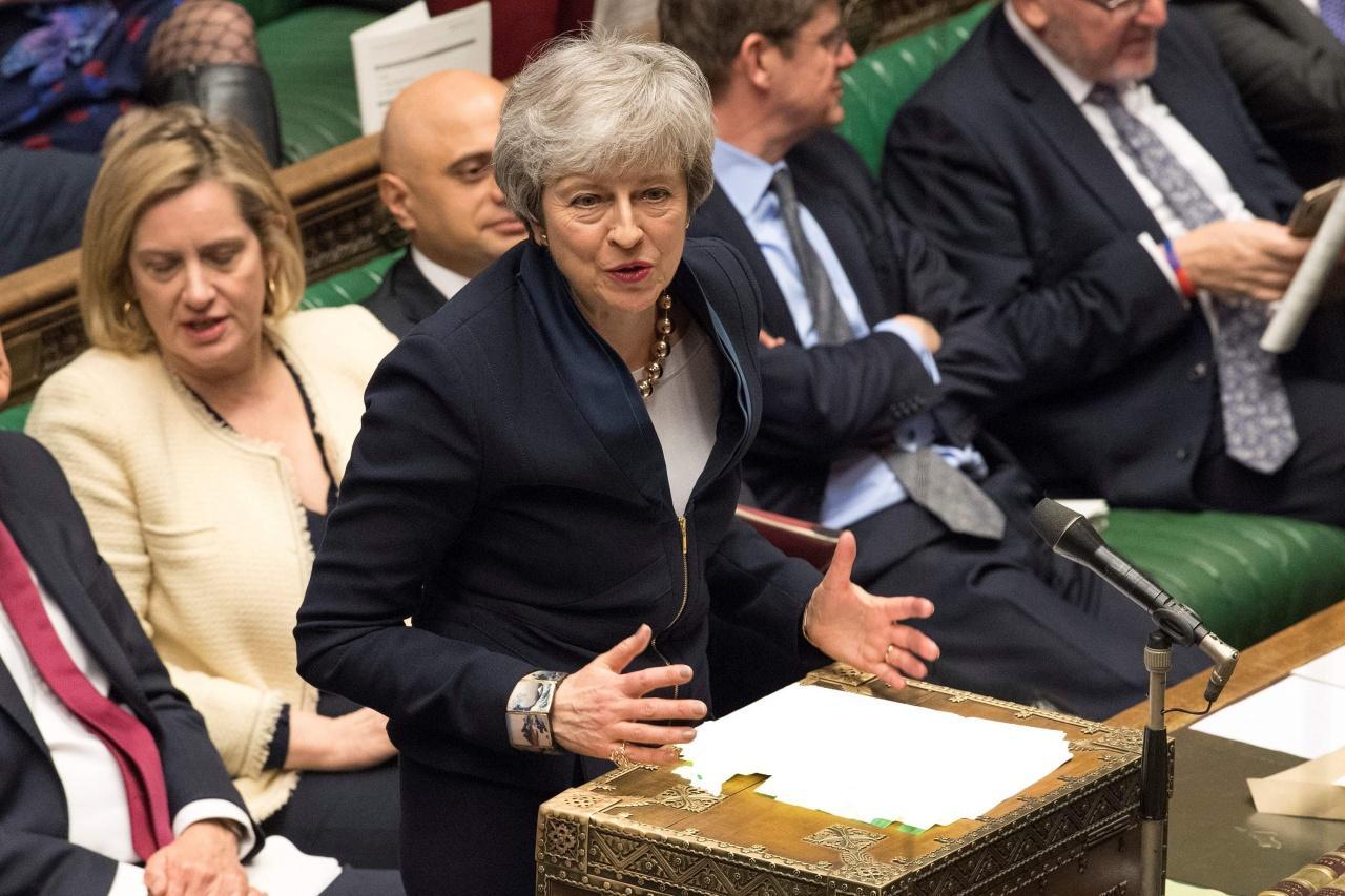 เทเรซ่า เมย์ นายกรัฐมนตรีอังกฤษ