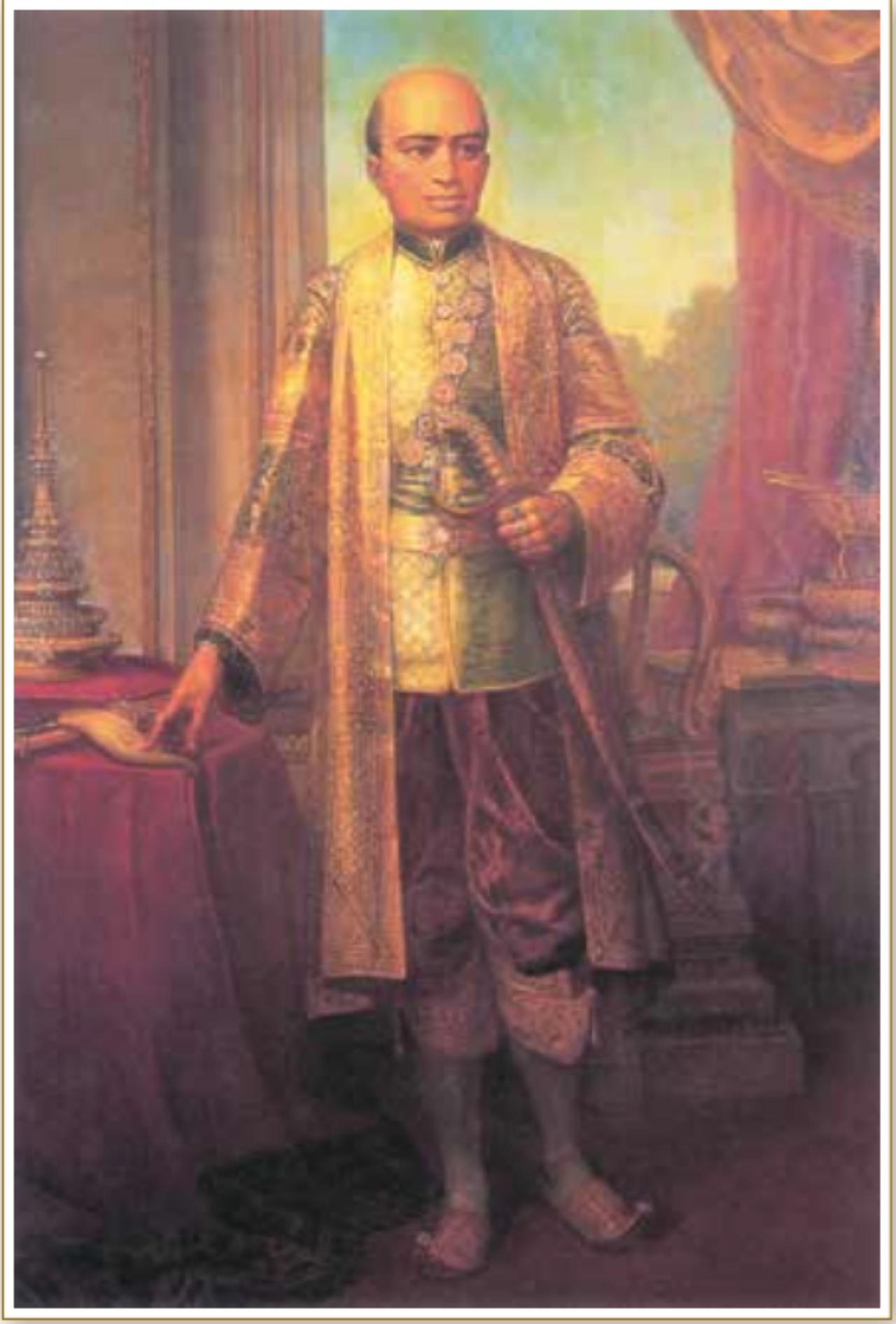 รัชกาลที่ 2พระบาทสมเด็จพระพุทธเลิศหล้านภาลัย ทรงประกอบพระราชพิธีบรมราชาภิเษก ในวันที่ 17 กันยายน 2352