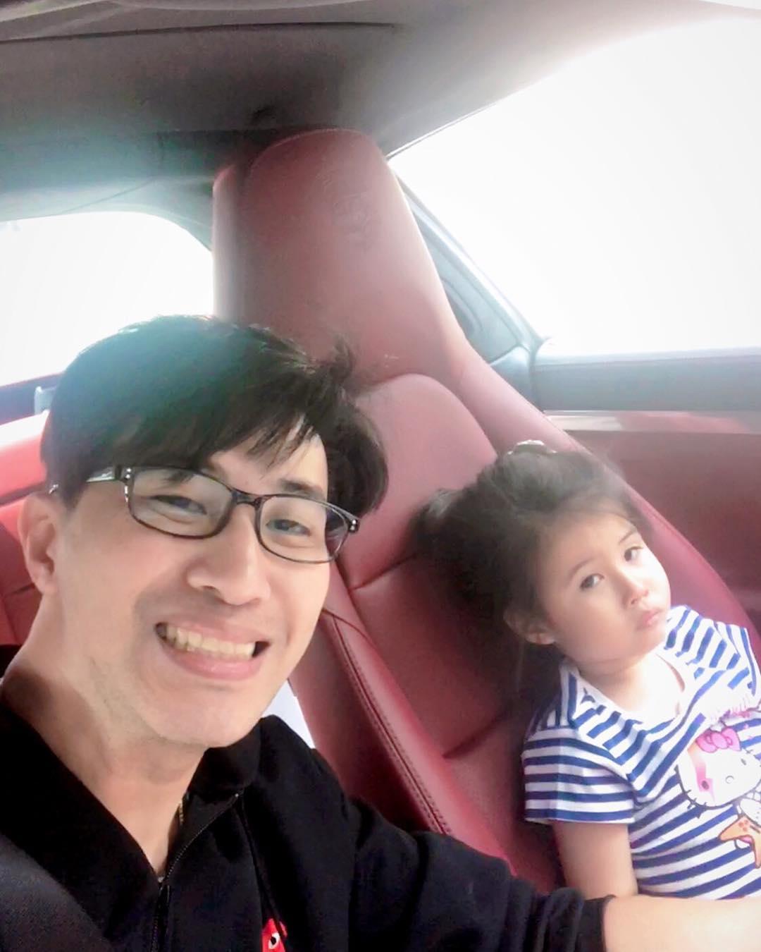 หนุ่ม กรรชัย และน้องมายู ขอบคุณภาพจากไอจี @kanchai