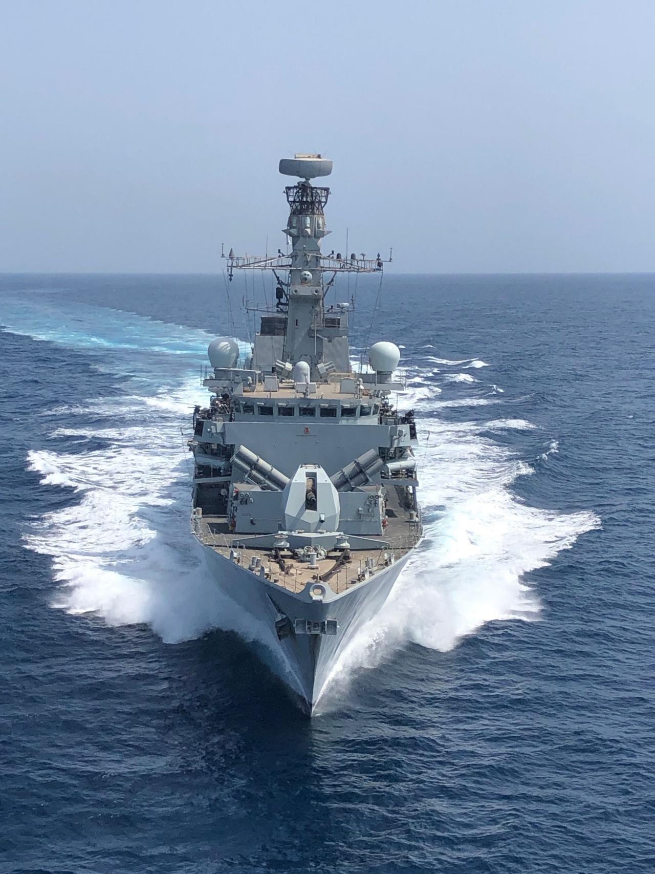 เรือรบอังกฤษ HMS Montrose (เอชเอ็มเอส มอนโทรส)