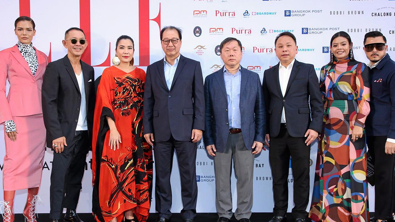 """ดูแฟชั่น ภูมิจิต พลางกูร และ ดร.ณัฐกิตติ์ ตั้งพูลสินธนา เปิดงาน """"ELLE Fashion Week Fall/Winter 2019"""" พร้อมฉลองครบ 25 ปี นิตยสารแอล ประเทศไทย โดยมี สรญา วัฒนเจียมวงษ์, ภาณุ อิงคะวัต และ พลพัฒน์ อัศวะประภา มาร่วมงานด้วย ที่เซ็นทรัลเวิลด์ วันก่อน."""