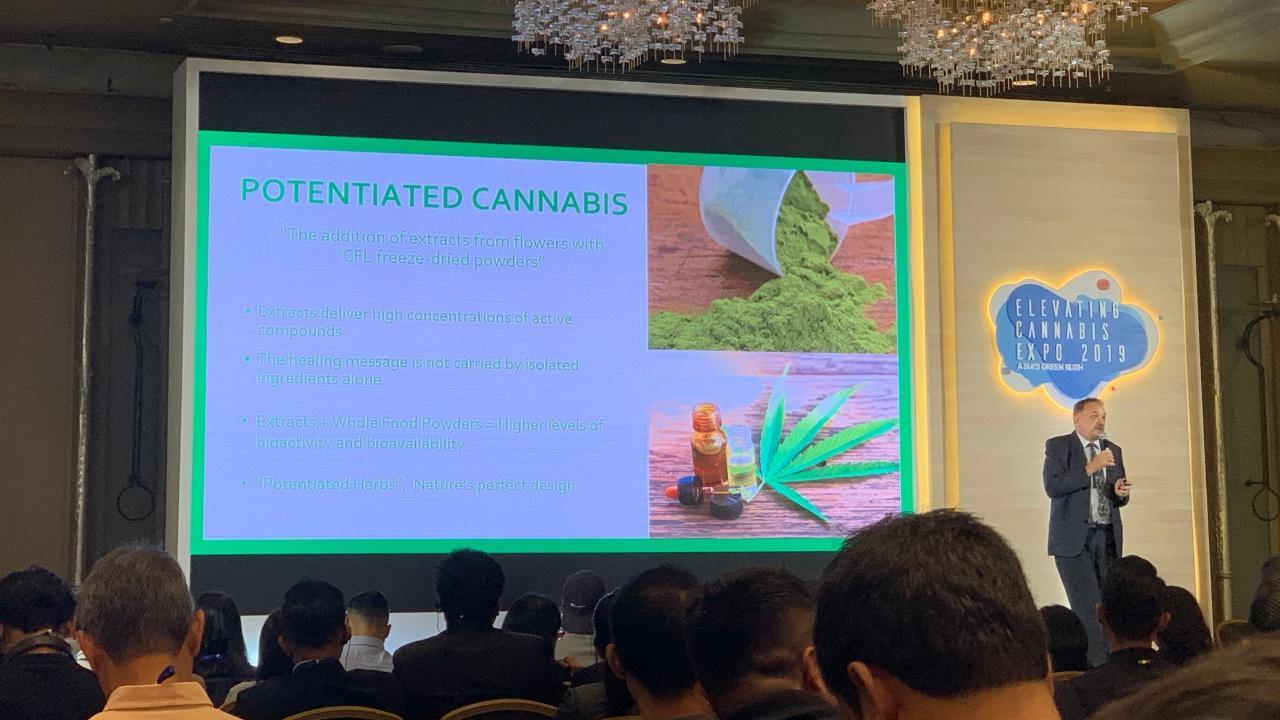 บรรยากาศในงาน ประชุมและงานแสดงนานาชาติอุตสาหกรรมกัญชา Elevating Cannabis Expo 2019: Asia's Green Rush