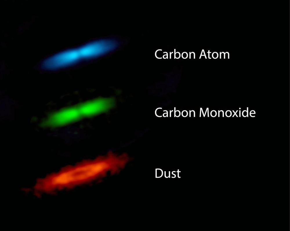 ภาพจาก : ALMA (ESO/NAOJ/NRAO), Higuchi et al.