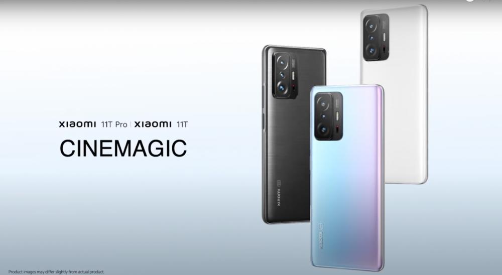 Xiaomi 11T Pro และ Xiaomi 11T มีด้วยกัน 3 สี