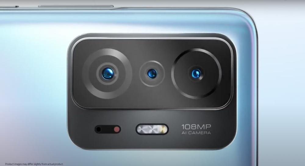 กล้องหลังทั้ง 3 ของ Xiaomi 11T Pro