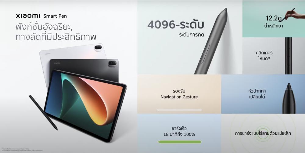 รองรับ Xiaomi Smart Pen