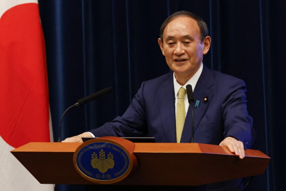 โยชิฮิเดะ สุกะ ผู้กำลังจะเป็นอดีตนายกรัฐมนตรีของญี่ปุ่น