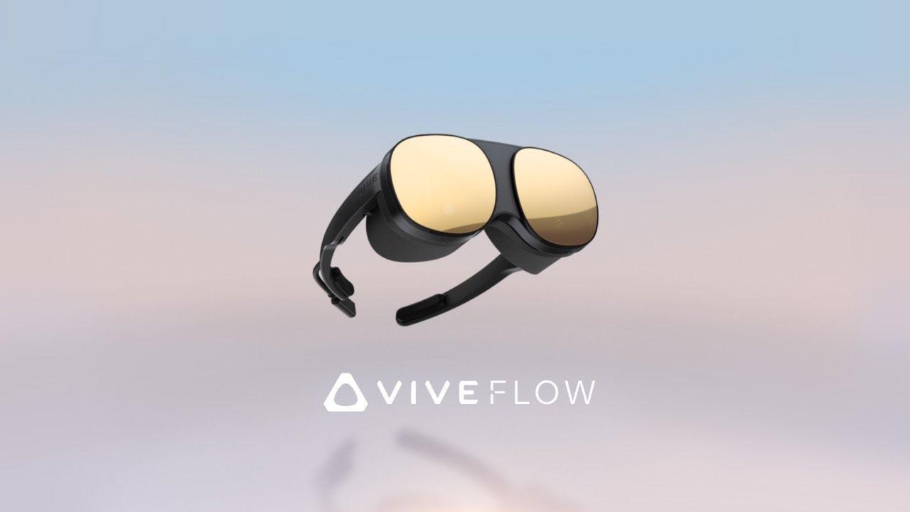 HTC เปิดตัว Vive Flow อุปกรณ์แว่น VR ชูคุณสมบัติกะทัดรัด-น้ำหนักเบา